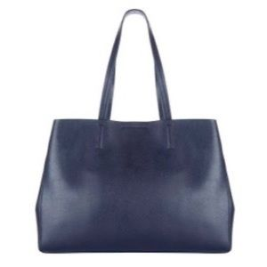Banana Republic Large Leather Tote Bag